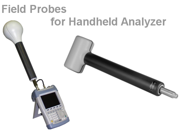 Field Probes for Handheld Analyzer
